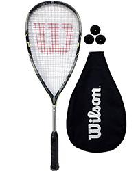 Guide meilleure raquette squash - Wilson Force 155