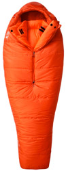 Guide meilleur sac de couchage grand froid - Mountain Hardwear HyperLamina Flame