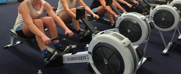 Concept2 Modèle D en salle de fitness
